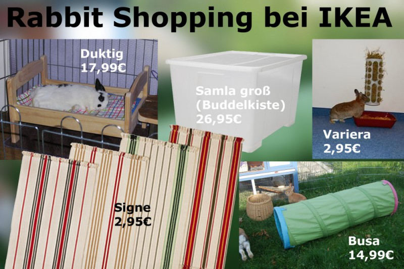 Kaninchen IKEA Kopie