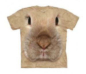 Kaninchenkopf T Shirt
