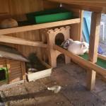 etagen kaninchengehege