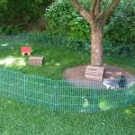 freilauf gehege kaninchen