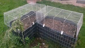 hochbeet-schutz kaninchenkäfig