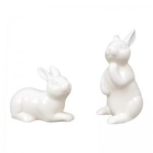 kaninchenfiguren deko