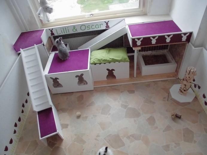 kaninchengehege 33 kaninchenwiese. Black Bedroom Furniture Sets. Home Design Ideas