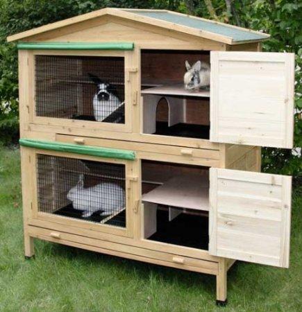 Kaninchenstall kaufen - Casa conejo ...