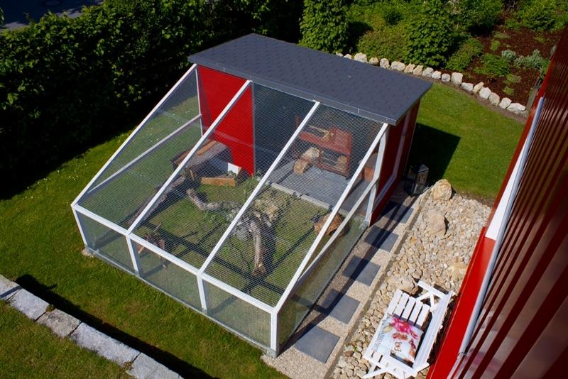 gartengehege bauen. Black Bedroom Furniture Sets. Home Design Ideas