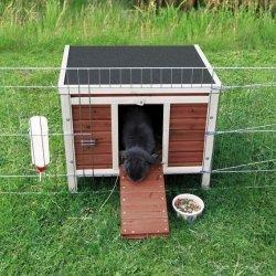 kleine kaninchenhütten