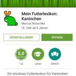 Neue Futterlisten App