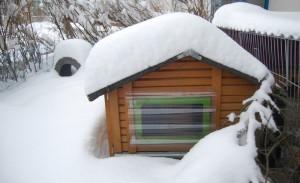 winter schutzhütte
